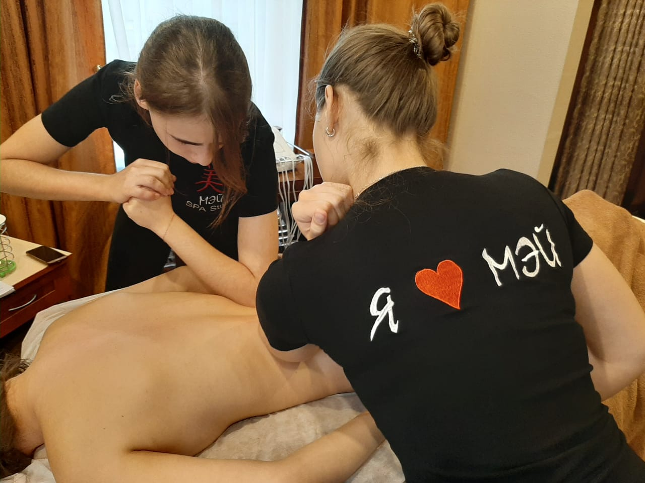 Massage in Mei SPA-Studio